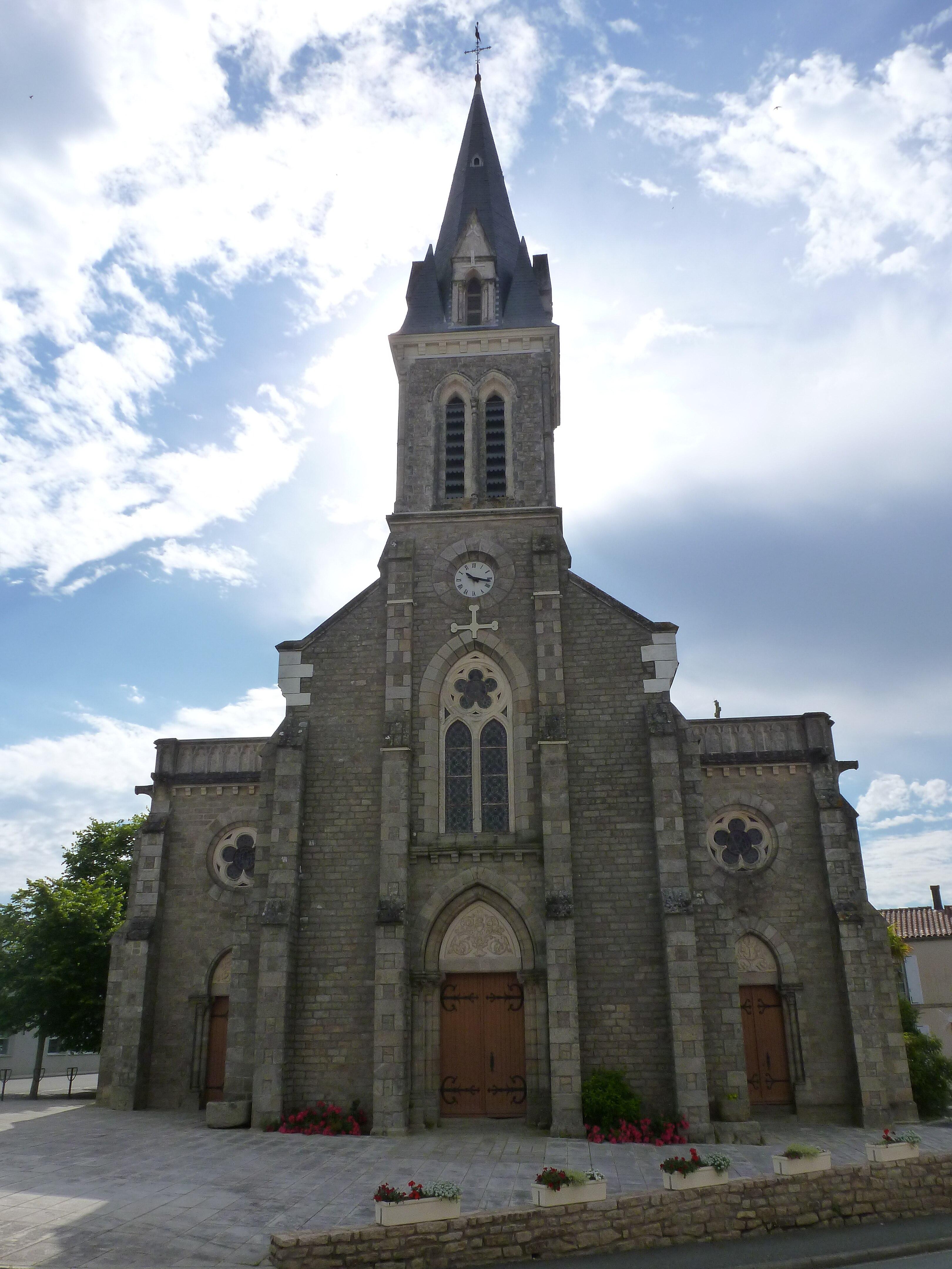 """Résultat de recherche d'images pour """"église de Mouilleron le captif"""""""