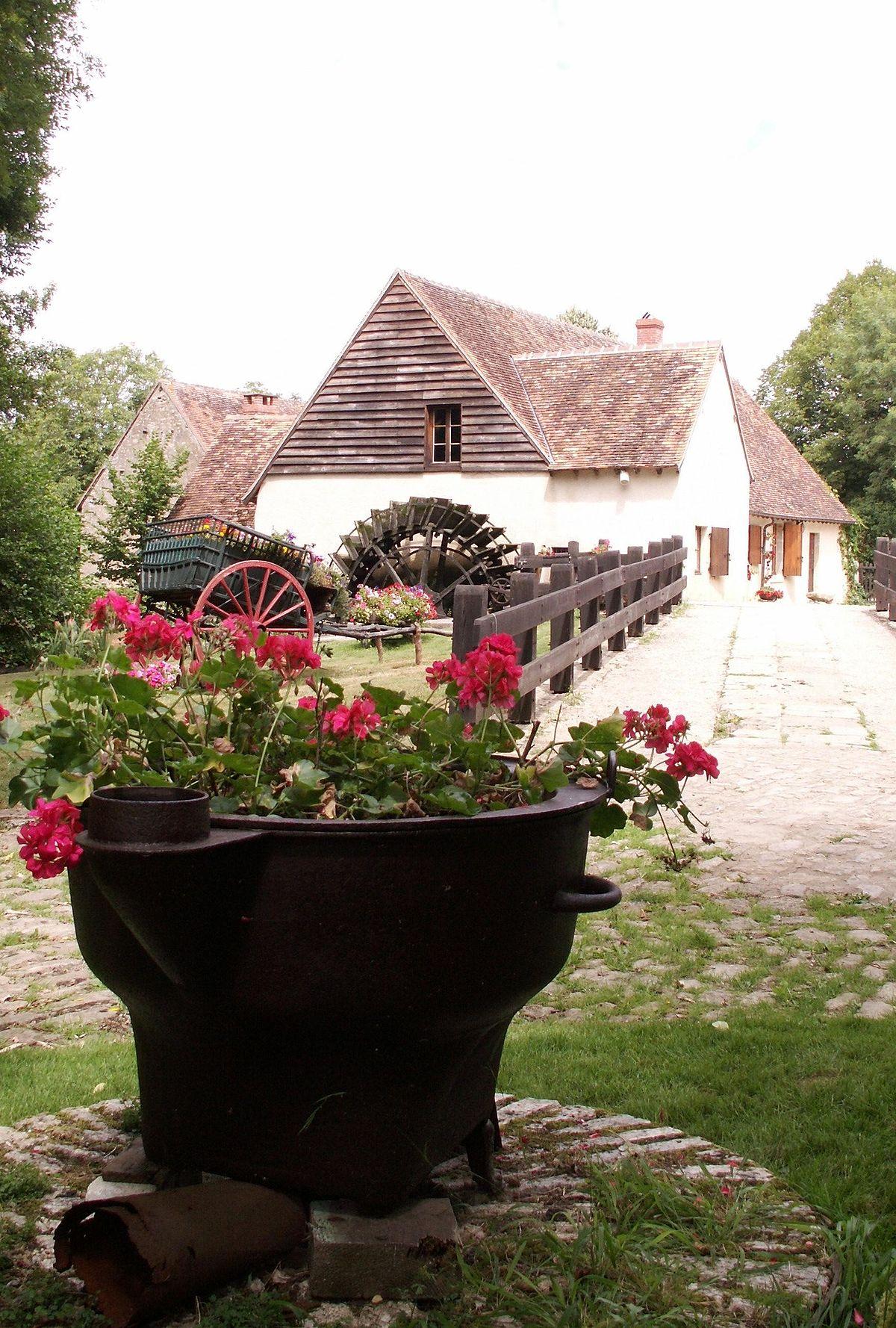 Moulin d 39 angibault wikip dia - Le port du moulin champtoceaux ...