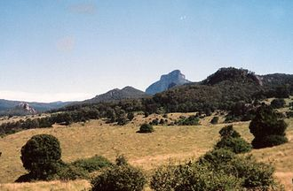 Scenic Rim Region - Mount Lindesay from Palen Creek