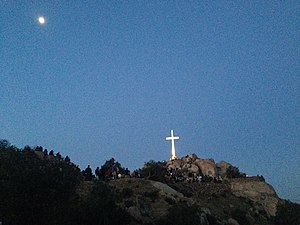 Mount Rubidoux - 2014 Mt. Rubidoux Easter Sunrise Service