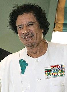 Muammar Gaddafis response to the 2011 Libyan Civil War