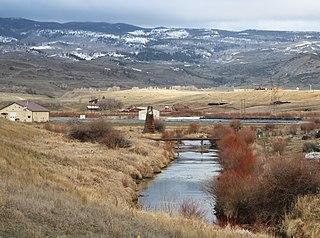Muddy Creek (Colorado) river in the United States of America