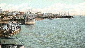 Muelles de Rosario (postal)