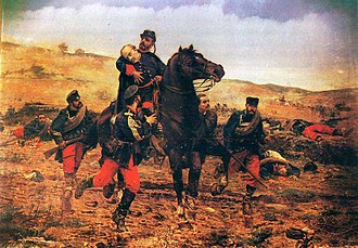 Manuel Gutiérrez de la Concha - Muerte del Marqués del Duero, by Joaquín Agrasot, painted 1884