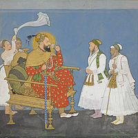 Muhammad Adil Shah II with courtiers and attendants.jpg