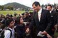 Multitudinario recibimiento a Rafael Correa en Otavalo.jpg