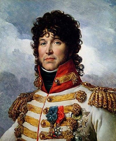 Joaquín Murat, rey de Nápoles y mariscal de Francia. Retrato de François Gérard, en 1808.
