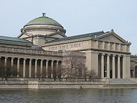 The Museum of Science and Industry building once housed the Field Museum of Natural History.