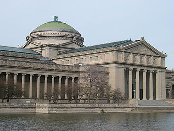 The Museum of Science and Industry building on...