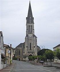 Mussidan (Dordogne, Fr), église paroissiale.JPG