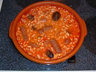Fabada asturiana - Image: My Fabada