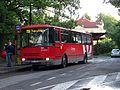 Nádraží Klánovice, autobus linky 391.jpg