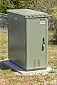 NBN FTTN cabinet, manufactured by CommScope, located in Junee.jpg