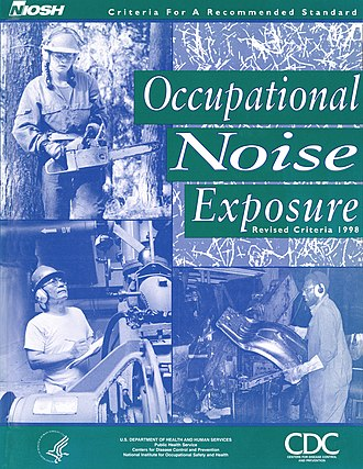 Noise regulation - Image: NIOSH Occupational Noise Exposure Criteria Document