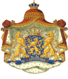 Wikipedia: Princess Annette of Orange-Nassau, van Vollenhoven at Wikipedia: 220px-NL_-_COA