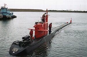 موسوعة غواصات البحرية الامريكية بعد الحرب العالمية الثانية بالكامل 300px-NR-1_986