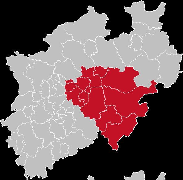 Regierungsbezirk Arnsberg
