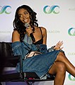 Nafessa Williams at ClexaCon - 2018 (40716722615).jpg