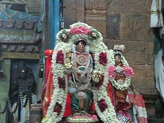Kayarohanaswami Temple, Nagapattinam - Festive image of the temple