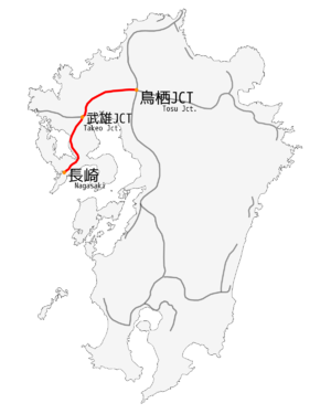 Nagasaki Express way map2.png