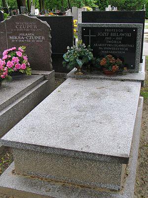 Józef Bielawski - Grave of Józef Bielawski at the Powązki cemetery in Warsaw
