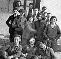 Nagy-Szénás, csoportkép ifjúmunkások kirándulásáról. Fortepan 25406.jpg