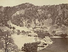 Nainital before landslip BLcollection.JPG