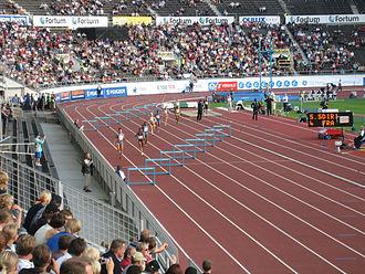 400 metres hurdles - Women's 400m hurdles.
