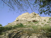 Nakhchivan fortress walls.JPG
