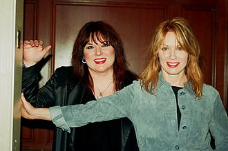 Heart (band) - Image: Nancy and Ann Wilson