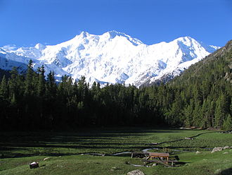 Fairy Meadows - Image: Nanga parbat, fairy medow, Pak by gul 791