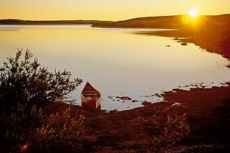 Nastapoka River - Sunset