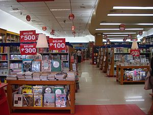 National Book Store - Typical store interior
