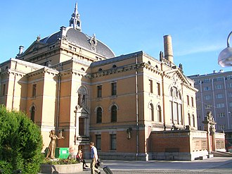 National Theatre (Oslo) - Image: National Theatret Back
