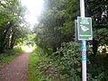 National Cycle Route 23 House Sparrow notice.JPG