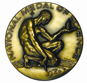 National Medal of Science - Obverse of the medal