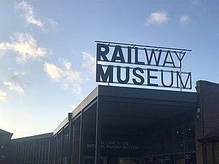 National Railway Museum Railway museum in York, England