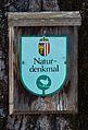 Natural monument sign, Upper Austria.jpg