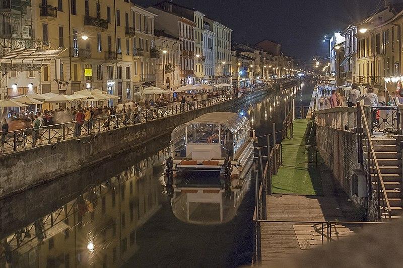 Diversão em Milão