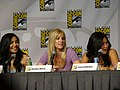 Naya Rivera, Heather Morris & Jenna Ushkowitz (4853074528).jpg