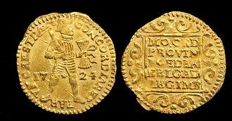 Ducat - Netherlands, 1724 Gold ducat, Utrecht