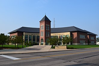 Dickinson County Courthouse (Iowa) - The current courthouse