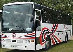 Van Hool Alizee HE II Body On A Scania K113CRB Coach For New Enterprise Coaches