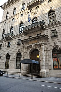 University Club of New York Private social club in Manhattan, New York