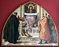 Nicolò barabino, la carità tra i rappresentanti delle corporazioni artigianali di firenze, 1885-87, 01.jpg