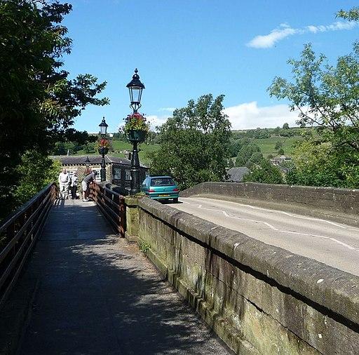 Nidd Bridge in Pateley Bridge - panoramio