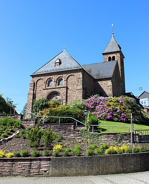 Lebach - Niedersaubach St. Antonius church