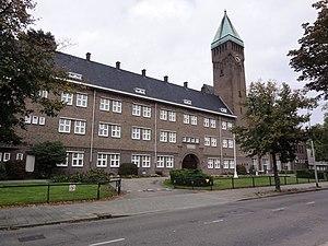 Berchmanianum - Image: Nijmegen Rijksmonument 523017 Berchmanianum Houtlaan 4 vooraanzicht