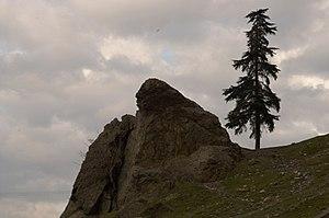 Niobe - Image: Niobe Weeping Rock Aglayan Kaya Mount Sipylus Manisa Turkey