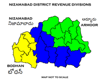 Nizamabad District Revenue divisions.png